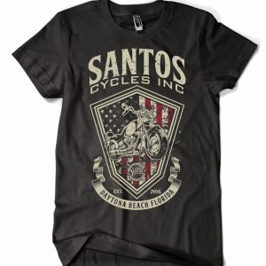 Santos Cycles FLAG TEE